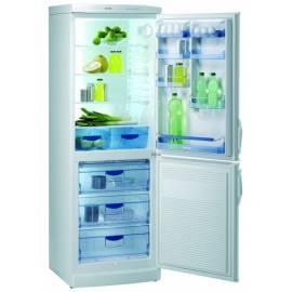 Kombination Kühlschrank / Gefrierschrank GORENJE, RK 6336 W Bedienungsanleitung