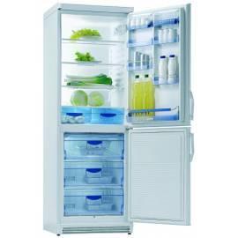 Handbuch für Kombination Kühlschrank / Gefrierschrank GORENJE, RK 6332 W