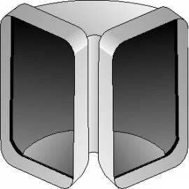 deutsche bedienungsanleitung f r zubeh r f r dunstabzugshaube best ccv126 white deutsche. Black Bedroom Furniture Sets. Home Design Ideas