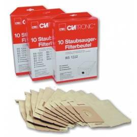 Beutel für Staubsauger CLATRONIC FBS 1224 beige - Anleitung