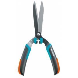 Die Hecke verzerrt GARDENA COMFORT Comfort auf die Gestaltung der Sträucher (039920) schwarz/Orange/Türkis