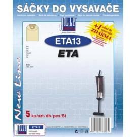 Bedienungsanleitung für Taschen für Staubsauger JOLLY ETA-13