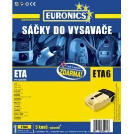 Bedienungsanleitung für Taschen für Staubsauger JOLLY ETA-6