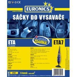 Datasheet Taschen für Staubsauger JOLLY ETA-7