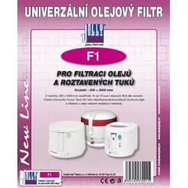 Filter Öl JOLLY (F) 1 Gebrauchsanweisung