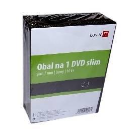 Bedienungsanleitung für Box für CD/DVD COVER DVD Hülle drauf schlank, schwarz, 7 mm, 10 Stück (COVERIT6) schwarz