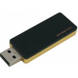 Bedienungshandbuch USB-flash-Laufwerk, 8 GB Black/Golden EMGETON Snooper R1