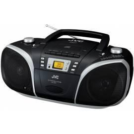 Boombox mit CD JVC RC-EZ57 schwarz - Anleitung