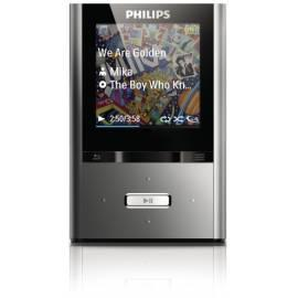 PDF-Handbuch downloadenPHILIPS GoGear ViBE MP3-Player SA2VBE04K grau