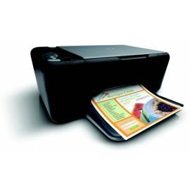 Benutzerhandbuch für HP Deskjet DeskJet F2420 (CB735B) schwarz