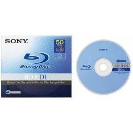 SONY Recording Media BNR50AV - Anleitung
