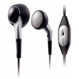 Bedienungsanleitung für PHILIPS SHM3100U-Headset schwarz/silber