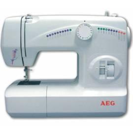AEG 210 Nähmaschine weiß