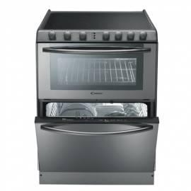 Die Kombination aus dem Kochfeld + Backofen + Spülmaschine CANDY TRIO 9503 X Edelstahl - Anleitung