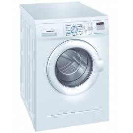 Bedienungshandbuch Waschvollautomat SIEMENS WM 12A26MBY weiß