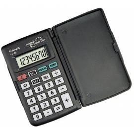 Handbuch für Taschenrechner CANON LC-8E (4042A009) schwarz