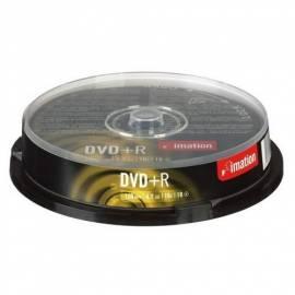Zaznamove Medium IMATION DVD + R 4.7 GB 16 x 10-Kuchen (i21748) - Anleitung