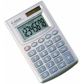 Bedienungshandbuch Taschenrechner CANON LS - 270H Silber