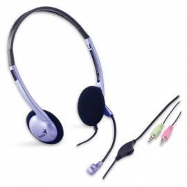 Benutzerhandbuch für Headset GENIUS HS-02 b (31710037100) Silber
