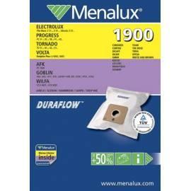 Service Manual Taschen für Staubsauger MENALUX DCT120