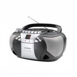 HYUNDAI TRC691A CD Radio Kassette mit Silber - Anleitung