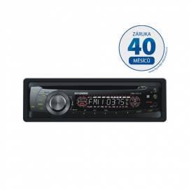 Handbuch für CD-Autoradio mit HYUNDAI CRM 1231 G schwarz