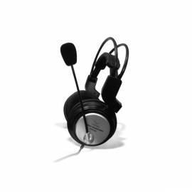 Bedienungshandbuch Headset CANYON CNRHS3 (CNR-HS3) Silber