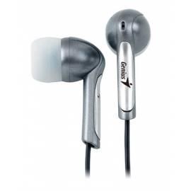 Bedienungshandbuch Headset GENIUS GHP - 02 Premium (31710008100) Silber