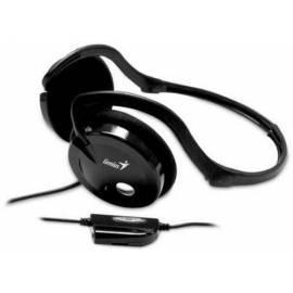 Headset GENIUS HS-02i schwarz (31710046101) schwarz