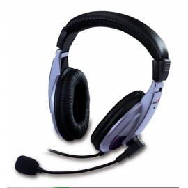 Das Headset GENIUS HS-04A (31700036100) schwarz/silber