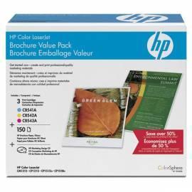 Benutzerhandbuch für HP CB542A Yellow Toner