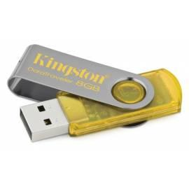 USB-flash-Disk KINGSTON Data Traveler DataTraveler 8GB Hi-Speed 101, gelb (DT101Y / 8GB) gelb