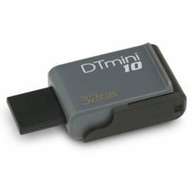 USB flash di KINGSTON Data Traveler DataTraveler Mini 10 (u0160edu00fd) (DTM10 / 32GB)-grau