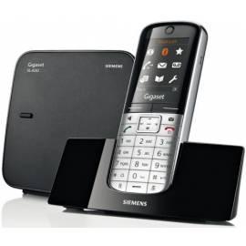 deutsche bedienungsanleitung f r telefon siemens gigaset sl400 schwarz deutsche. Black Bedroom Furniture Sets. Home Design Ideas