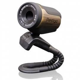 Webcam PRESTIGE PWC213 schwarz/bronze - Anleitung