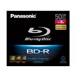 Benutzerhandbuch für Aufnahme mittlere PANASONIC Blu-Ray-Disk LM-BR50LDE