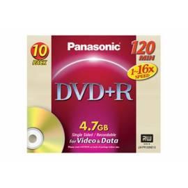 Bedienungsanleitung für Aufnahme-Medien DVD + R Disc PANASONIC LM-PR12NE10P