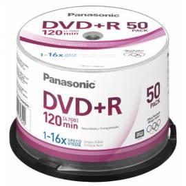 Datasheet Ihre Aufnahmemedium ist ein PANASONIC DVD + R Disk-LM-PS120NE50