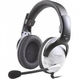 Kopfhörer KOSS SB 45 schwarz/silber