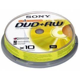 Handbuch für SONY Recording Media 10DPW120ASP