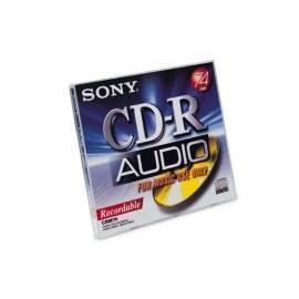 SONY Recording Media CRM80 Gebrauchsanweisung