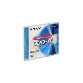 Bedienungshandbuch Aufzeichnungsmedium SONY DVD-R Disk-DMR47AS16