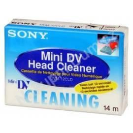 Benutzerhandbuch für Reinigungs-CD, DVD, MiniDV, SONY DVM12CLD.(E)