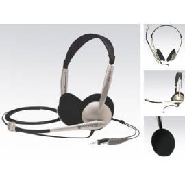 Kopfhörer KOSS CS 100 schwarz/silber