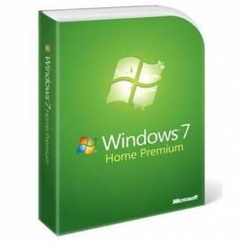 MICROSOFT Windows 7 Home Premium Tschechische Softwareupgrade Gebrauchsanweisung