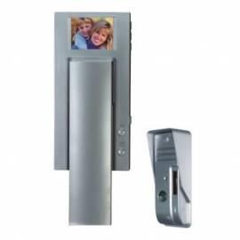 Tür Bildtelefon MOVETO-025 Silber