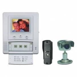 Tür Bildtelefon MOVETO In - 027C mit zusätzlichen Kamera Silber Gebrauchsanweisung