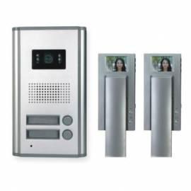 Tür Bildtelefon MOVETO-2V-029-Silber