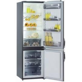 Bedienungshandbuch Kombination Kühlschränke mit Gefrierfach GORENJE RK 4296 (E) Edelstahl