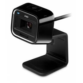 Datasheet Webcam MICROSOFT LifeCam HD-5000, USB (7ND-00001) schwarz